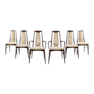 Niels Koefoed, Koefoeds Hornslet Mid-Century Rosewood With Cream Upholstery For Sale