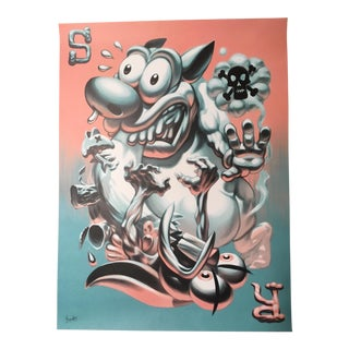 "Ray Frenden ""The Ren & Stimpy Show"" Tribute Promotional Nickelodeon Poster"