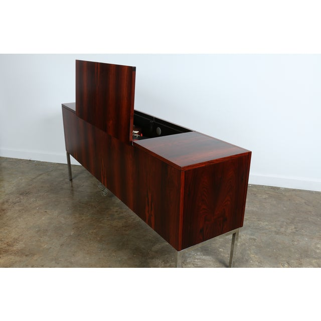 1970s Rosewood Record Cabinet - Image 11 of 11