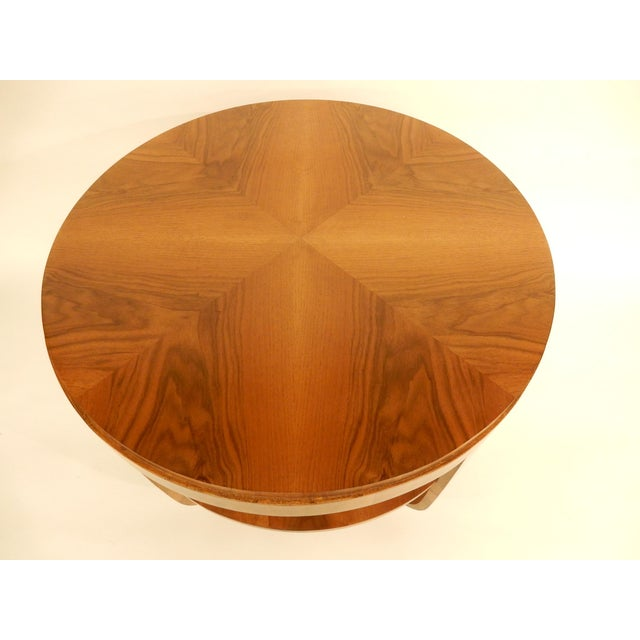 Art Deco 1930's Round Art Deco Table For Sale - Image 3 of 7