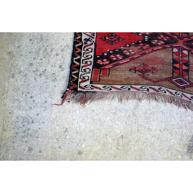 "Vintage Turkish Handknotted Anatolian Tribal Runner-3'4x11'2"" For Sale In Washington DC - Image 6 of 13"