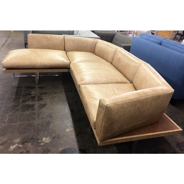 Mid-Century Modern Giocare Platform Sectional For Sale - Image 3 of 4