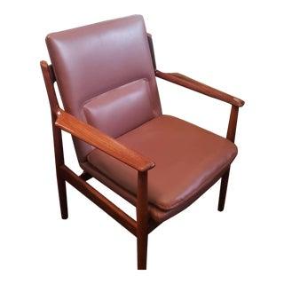 Vintage Arne Vodder for Sibast Lounge Chair in Rosewood For Sale