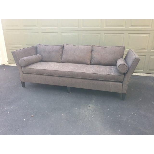Parzinger Style Flare Arm Shelter Sofa - Image 4 of 11