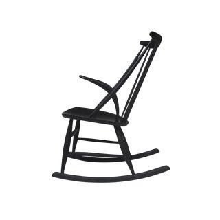 Illum Wikkelsø Rocking Chair in Black