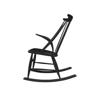Illum Wikkelso Rocking Chair in Black