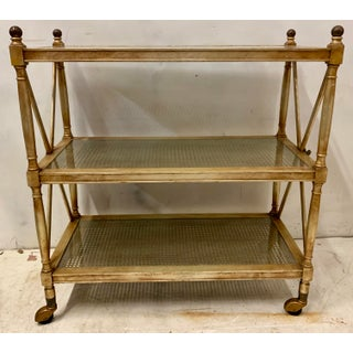 French Bronze Dessert Serving Cart Preview