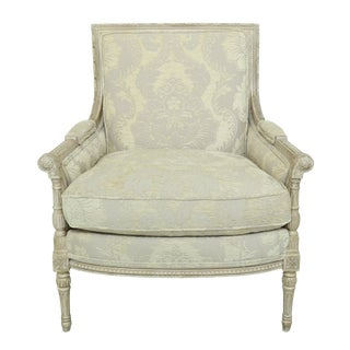 Councill Craftsmen French Paint Decorated Upholstered Chair For Sale