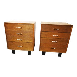 Mid-Century George Nelson for Herman Miller Chests - A Pair