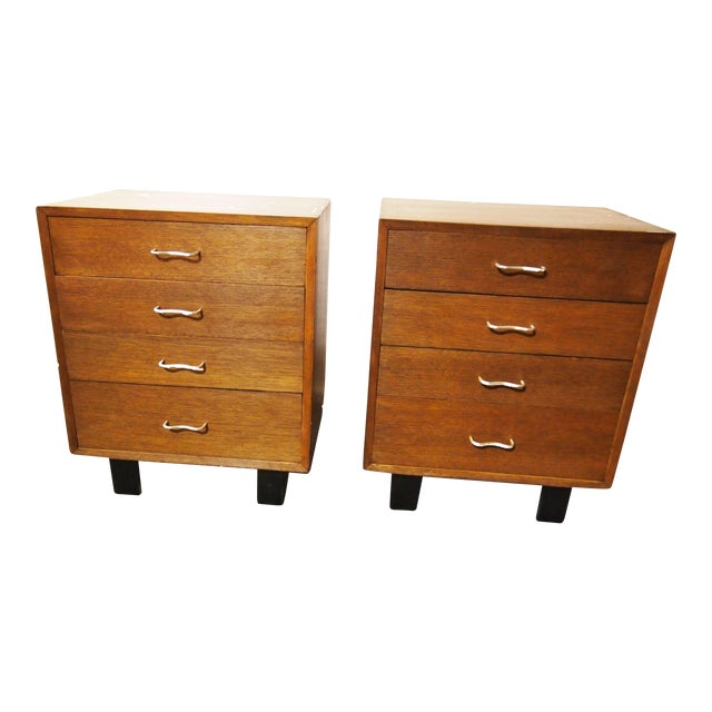 Mid-Century George Nelson for Herman Miller Chests - A Pair For Sale