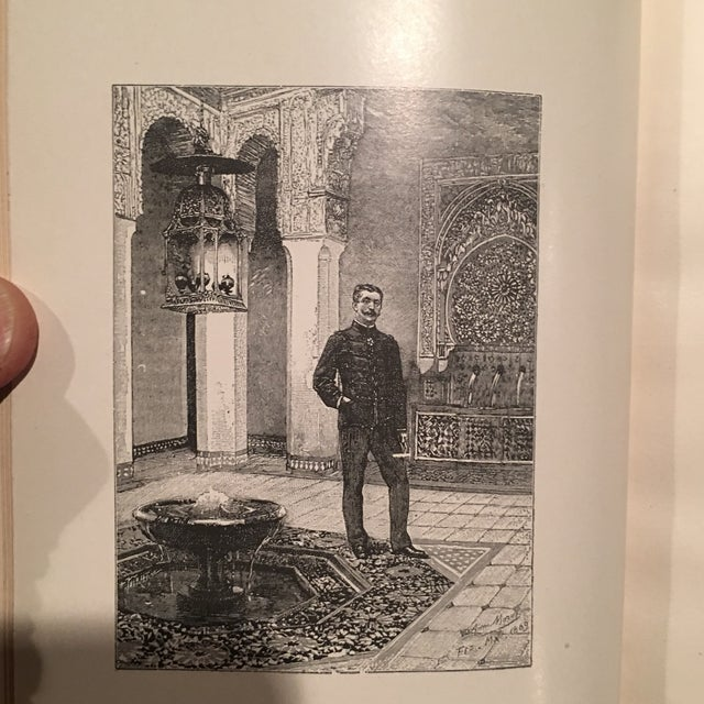 """1892 Leather """"Into Morocco"""" 1st Edition Book - Image 9 of 10"""