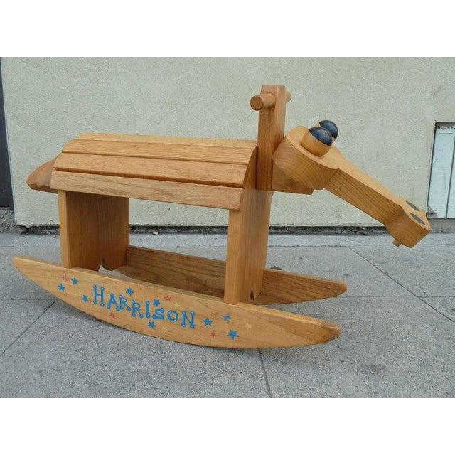 Stylized Rocking Horse - Image 3 of 5