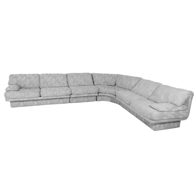 Postmodern Three Piece Sectional Sofa by Bernhardt - Set of 3 For Sale - Image 12 of 13