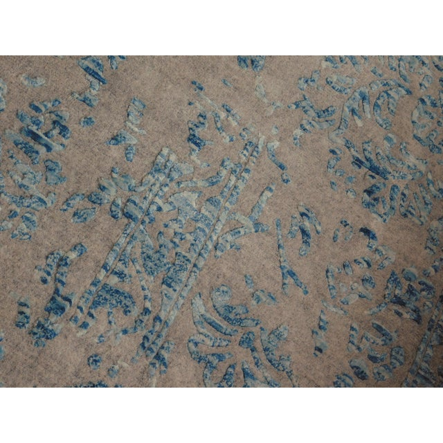 Hand Knotted Indian Rug - 8′ × 10′ - Image 7 of 11
