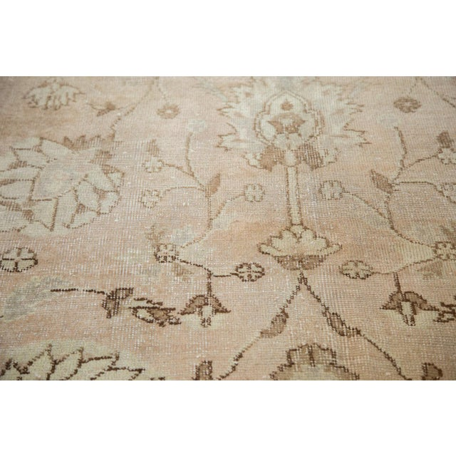 """Vintage Distressed Oushak Carpet - 7'2"""" x 12'1"""" For Sale In New York - Image 6 of 10"""