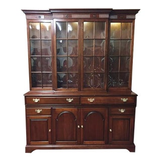 Pennsylvania House Federal Style China Cabinet For Sale