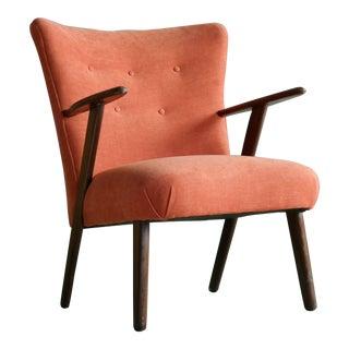 Kurt Olsen Style Danish 1950s Lounge or Cocktail Chairs in Teak