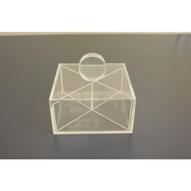Lucite Decorative Box - Image 3 of 8