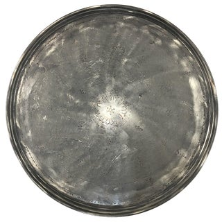 """Solid Copper Tray With Tin Overlay 