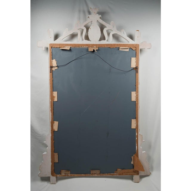 Gampel-Stoll Gampel Stoll Faux Bamboo Wall Mirror For Sale - Image 4 of 7