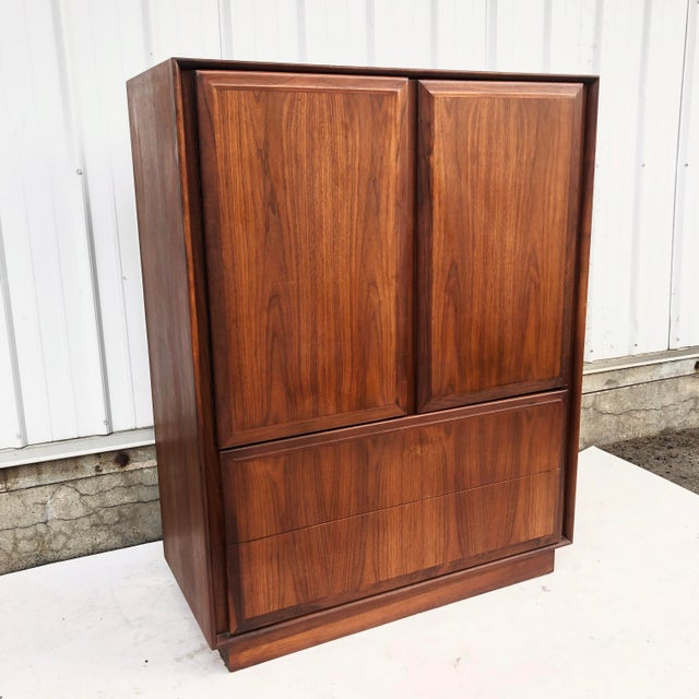 Mid-Century Armoire Dresser by Dillingham For Sale - Image 12 of 12