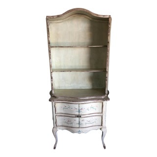French Style Shabby Chic Display Cabinet