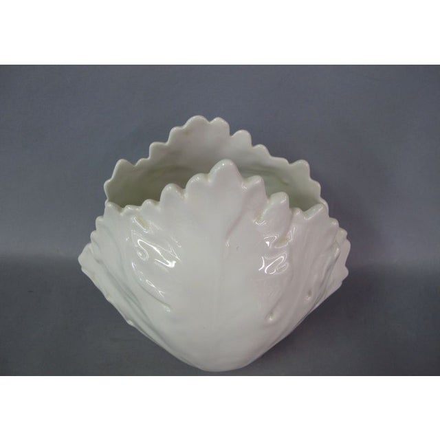 Italian Leaf Vase - Image 2 of 4