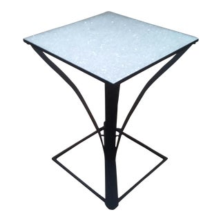 Black Steel Modern Table