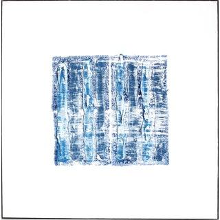 "Len Klikunas ""Ny Blue 1"" Original Painting For Sale"