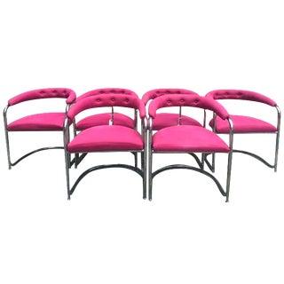 Vintage Thonet Anton Lorenz Chairs - Set of 6
