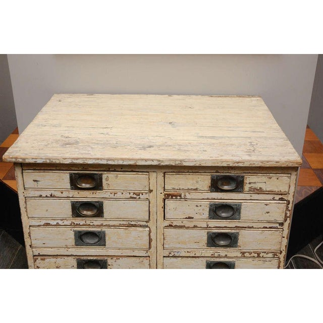 Traditional 1860s English Collector's Drawer Cabinet Chest For Sale - Image 3 of 10