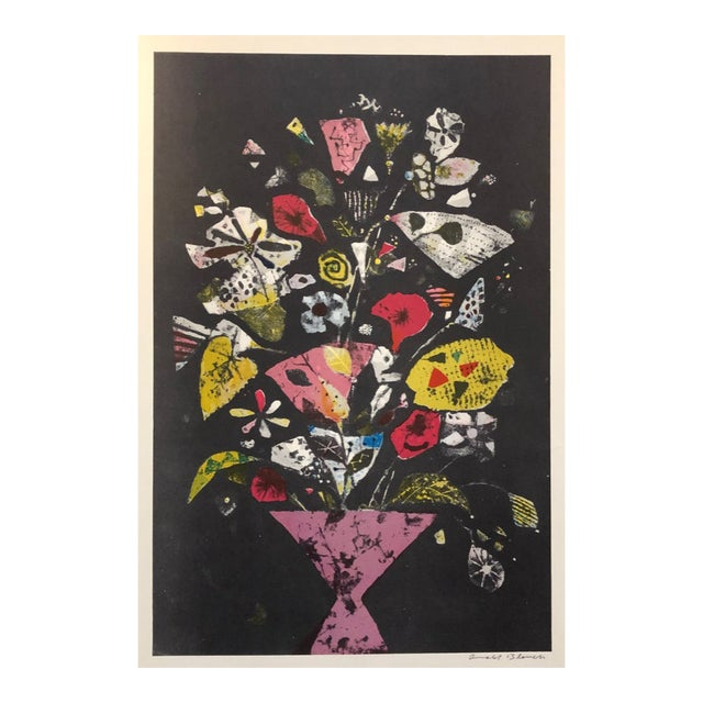 1960s Arnold Blanch Still Life Paintograph For Sale