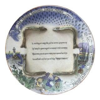 Late 19th Century Majolica Sardines Box George Dreyfus For Sale