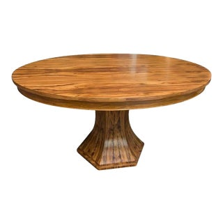 Bolivian Rosewood Center/Dining Table For Sale