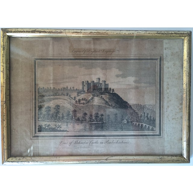 Antique Welsh Castles Engravings - Set of 3 - Image 7 of 7