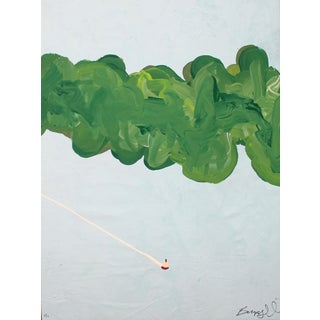 "Bumpy Wilson ""The Lake"" Contemporary Abstract Painting For Sale"