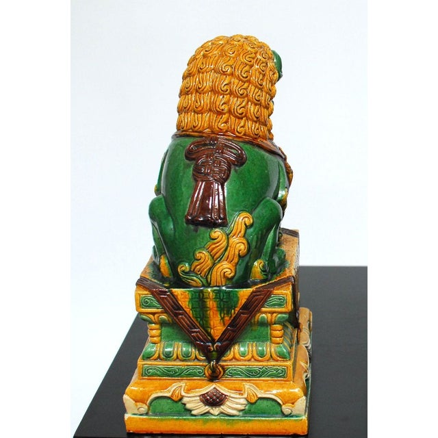 Chinese Imperial Foo Dog Lion Protector - Image 4 of 4