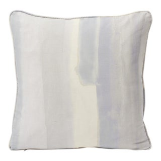 Schumacher Double-Sided Pillow in Watercolor Print