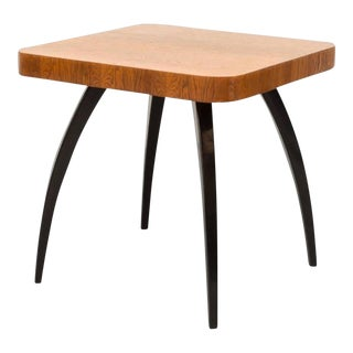 1930s Mid-Century Modern Jindrich Halabala for UP Závody Side Table For Sale