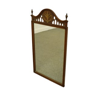 Kindel Grand Rapids, MI Cherry Traditional Style Wall Mirror For Sale