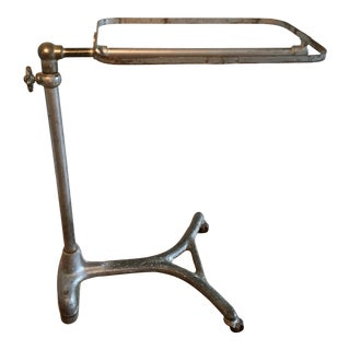 Antique Industrial Rolling Medical Mayo Cart For Sale