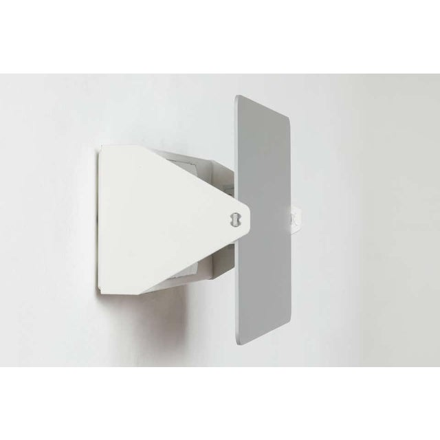 Charlotte Perriand 'Applique á Volet Pivotant' Wall Light in Natural Aluminum - a Pair For Sale - Image 10 of 11