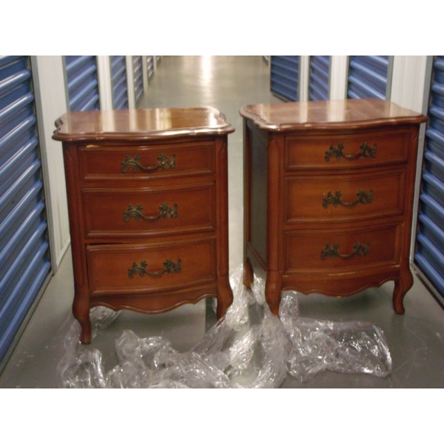 Cherry Night Stands - A Pair - Image 2 of 5
