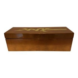 J. Fleet Lacquer Ware Box