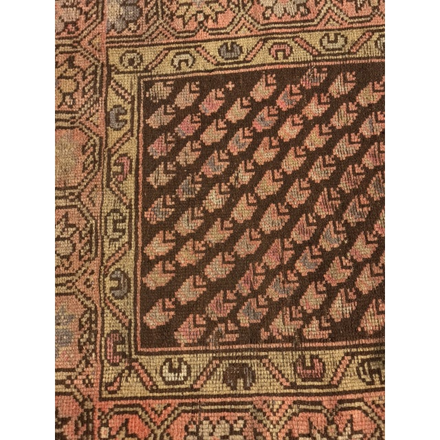 "Antique Persian Malayer Rug - 2'3"" x 3' - Image 3 of 11"