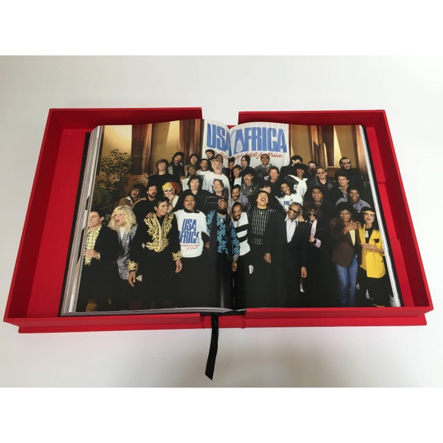 Paper Michael Jackson Opus Large Collector Table Book For Sale - Image 7 of 11