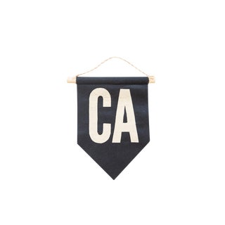 CA Felt Flag Navy