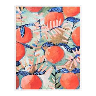 Orchard 3 by Lulu DK in White Framed Paper, Medium Art Print