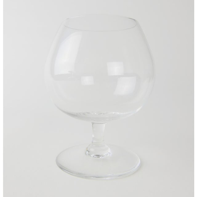 Baccarat Baccarat Crystal Snifters - a Pair For Sale - Image 4 of 7