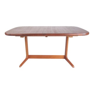 Scandinavian Modern Dining Table For Sale